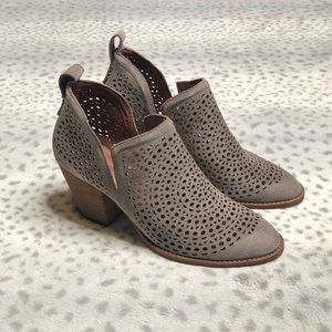 Jefferey Campbell Rosalee Ankle Bootie Leather